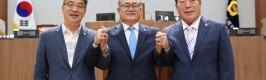 충남도의회 후반기 의장 김명선 의원 선출...부의장 전익현·조길연