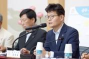 김정섭 시장, 정안면 찾아 대화의 한마당 펼쳐
