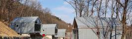 공주산림휴양마을 숲속의 집 7동 증축 완료…2월 본격 운영